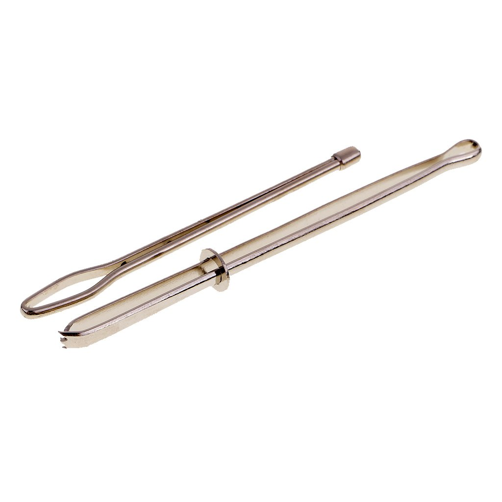 Sharplace 2 Pieces Bodkin Needles Threader Tweezers Insert Elastic Ribbon Easy Insert into Casings Sewing Tools