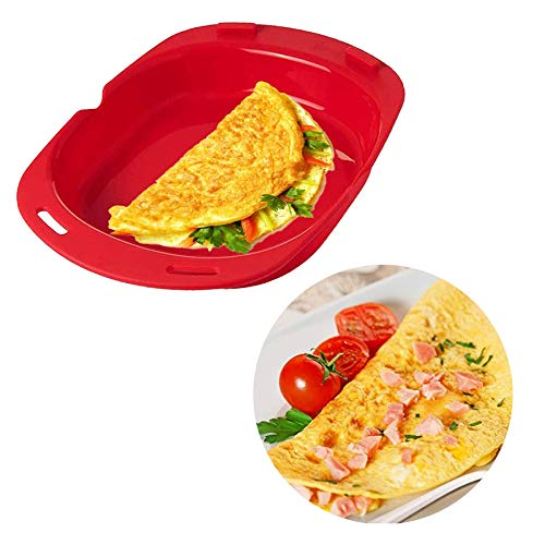 Silicone Omelette Maker, LACE INN Microwave...