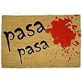 koko doormats Felpudo para Entrada de Casa Pasa Pasa Original y Divertido, 40x60 cm