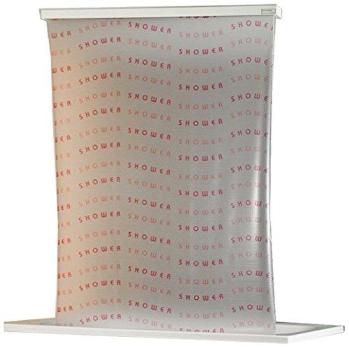 ECO-DuR  4024879004088 Ersatzvorhang Kassetten Duschrollo Seitenzug 134cm - Shower magenta