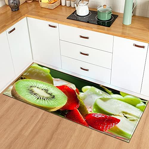 Tappetini modello frutta ingresso casa zerbino camera da letto soggiorno tappeto corridoio bagno tappeto antiscivolo NO.20 60X90cm