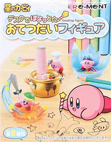 Juego de miniaturas Muy detalladas Kirby Desktop Figure de Re-Ment, Japón con Soportes para Notas, Cables, Gomas elásticas, bolígrafo