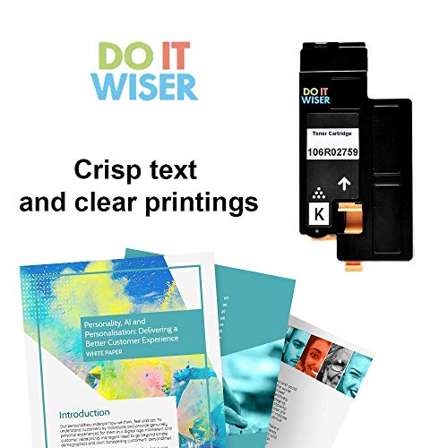 Do it Wiser Compatible Toner Cartridge Replacement for Xerox Phaser 6022 6020 Toner WorkCentre 6027 6025 (106R02759) - Black 2,000 Pages Photo #4
