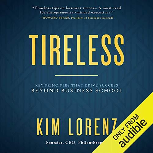 Tireless audiobook cover art