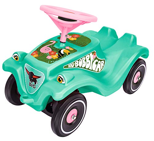 Smoby / Dickie Toys Big - Bobby Car Tropic Flamingo