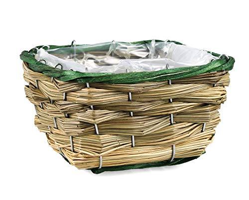 Tin Tours Panier pour Plantes en mer et Panier pour Pot de Fleurs 16 x 16 x 10 cm
