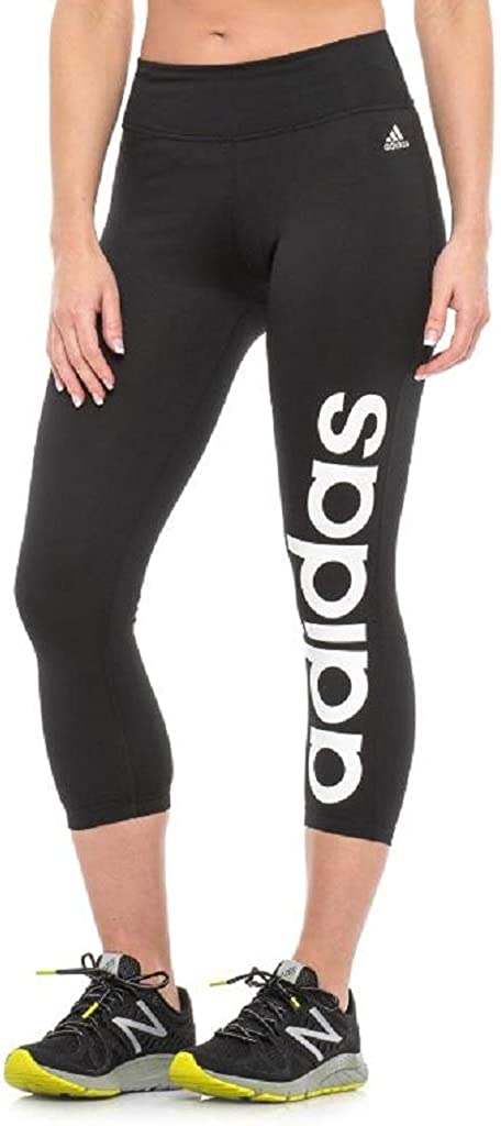 adidas Women's Fab Climalite Superior Essentials Training Tights Chicago Mall P Linear