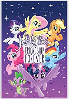 American Greetings My Little Pony Loot Bags, 8-Count