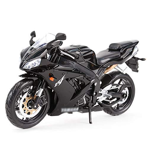 JIALI Trommel kompatibel mit Yamaha YZF-r1 Motorrad Modell Diecast 1/12 Legierung Spielzeug Off Road Motor Fahrrad...