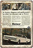 マーキュリー流星自動車ヴィンテージティンサイン装飾ヴィンテージ壁金属プラークレトロ鉄絵カフェバー映画ギフト結婚式誕生日警告
