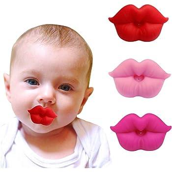 Funny Recién Nacido Bebé Niño Niña Niño Dummy Chupete Chupete Dientes Dental para la dentición