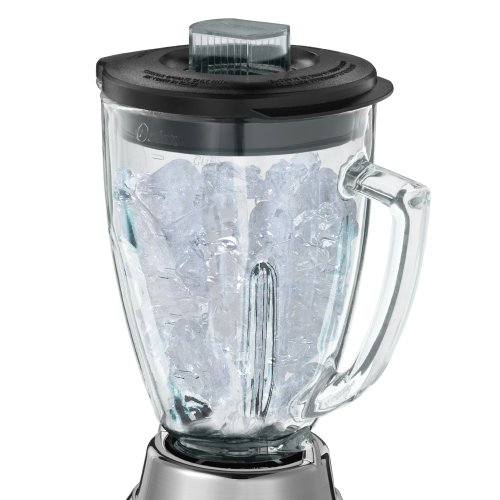 Oster batidora de jarra de cristal 12-speed 6811 6 tazas, níquel ...
