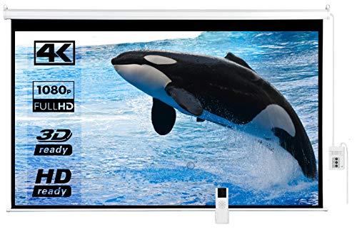 pantalla de proyeccion eléctrica fabricante IMAdeMexico