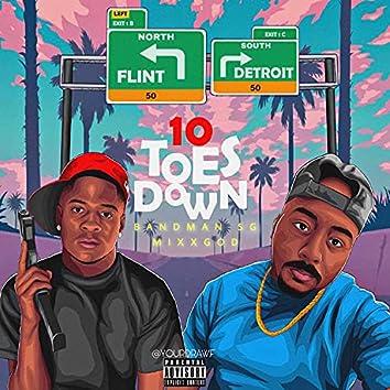 10 Toes Down (feat. Bandman Sg & Kash Doll)