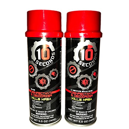 10-Seconds Deodorant & Disinfectant (Pack of 2) by 10-Seconds