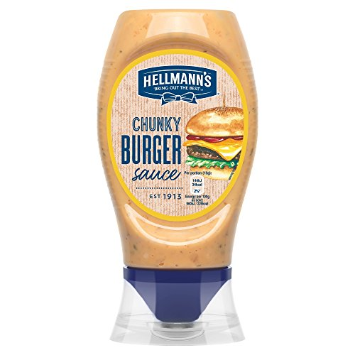 Hellmann's Chunky Burger Tischsoße, 250 ml