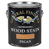 一般的な仕上げWpga Waterbase木製ステイン、1ガロン、Pecan