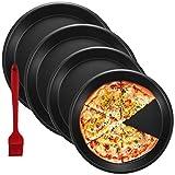 4 PCS Pie Pans, OAMCEG 9 Inch & 8 Inch Round Nonstick Bakeware...