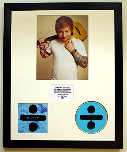 Ed Sheeran/Foto & CD Display LTD. Edition of The Album Divide