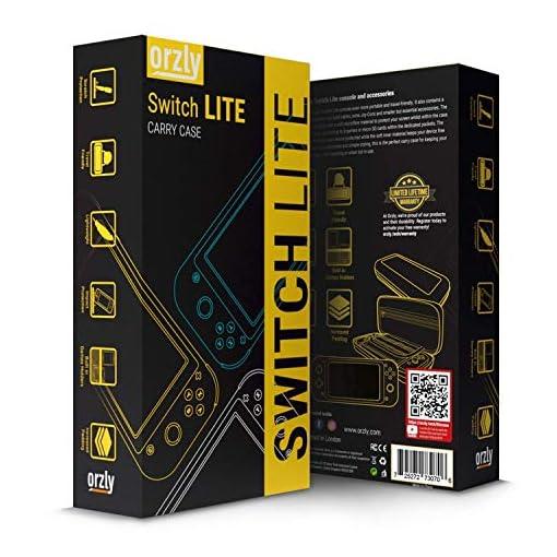 Funda para Nintendo Switch Lite – Estuche Protector rigida, para Llevar Nueva Switch Lite Consola (2019) y Sus Juegos y… 5