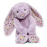 Jellycat Blossom Jasmine Bunny Stuffed Animal, Medium, 12 inches