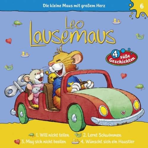 Leo Lausemaus will nicht teilen audiobook cover art