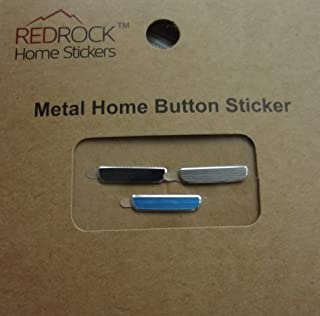 Black Silver Blue Colors Metal Aluminum 3 Pieces Home Button Stickers for Samsung S III S3 Galaxy i9300