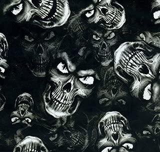 Hydrographic Film - Water Transfer Printing - Hydro Dipping - Evil Eye Skulls - 1 Meter