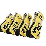 Feidaeu Mascotas Zapatos para Perros Invierno Cálido Botas cómodas Antideslizante Impermeable Prevención de arañazos Calzado Pata Protectores Secos Producto
