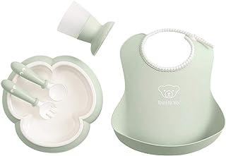 BABYBJÖRN 婴儿餐具套装,5 件装 粉绿