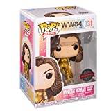 Funko Pop Heroes : Wonder Woman 1984 - Wonder Woman in Golden Armor (Exclusive) #331 Figure Gift Vin...