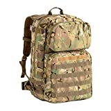 MT Military FILBE Assault Pack with Assault Pouch, Army Tactical Rucksack Backpack Multicam
