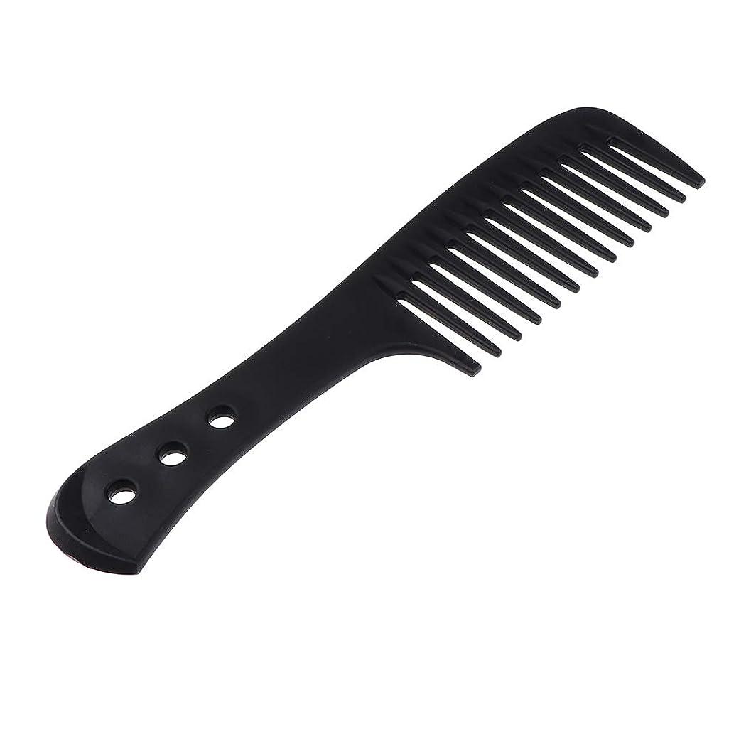 受粉者話すブローT TOOYFUL ワイド歯ブラシ 美容整形 美容整形髪ブラシ 全4色 - ブラック