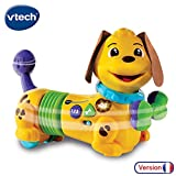 VTech - Maxou, mon chien filou - jouet chien - se déplace tout seul - animal interactif (522705)