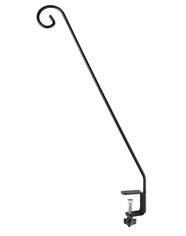 Extended Reach Deck Hook. 30-Inch Arm. Clamp On. - by Home-X