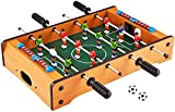 Toys and Games REAL LIFE ACTION- ⚽️ Easily enjoy real life foosball action from any room in your house. The tabletop version of this exciting game makes it easy to perfect your shooting skills, goalie blocks, 360 degree spins, and more! FUN FOR ALL- ...