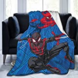 Anime Throw Blanket, Super Soft Lightweight Flannel Fleece Blankets for Bed Couch Sofa, All Season Warm Cozy Fuzzy Plush Microfiber Blanket for Women, Men and Kids 50'x40'