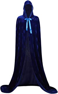 Cloak with Hood Witch Cape Costume Full Length