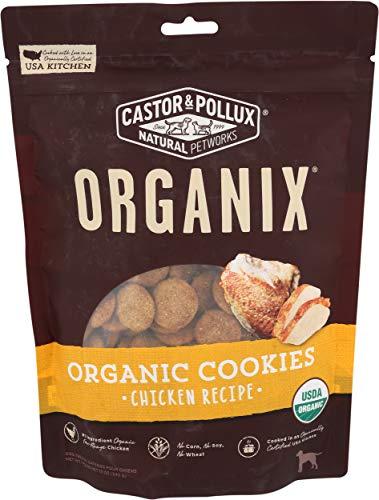 Organix, Organic Dog Treat Cookies Chicken, 12 oz