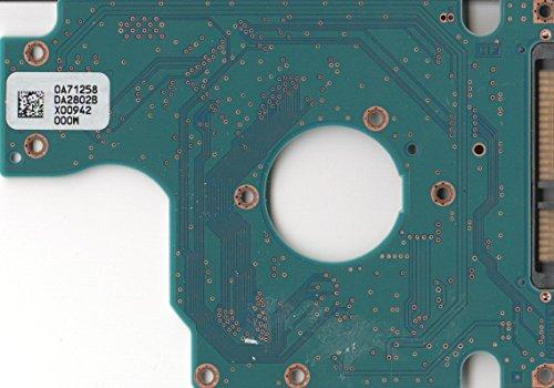 HTS545032B9A300, 0A71258 DA2802B, 0A70433, DA2944, Hitachi SATA 2.5 Leiterplatte (PCB)