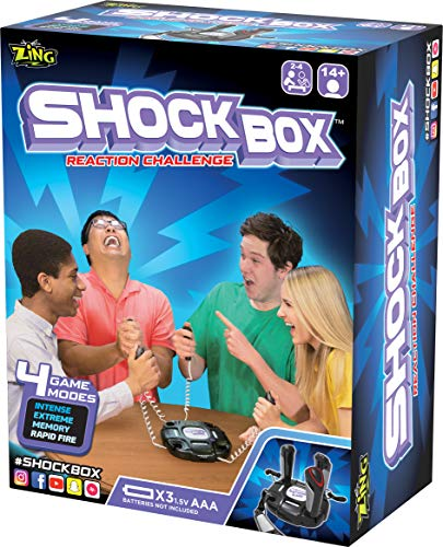 Zing ZG667 Shock Box Reaction Challenge, Negro