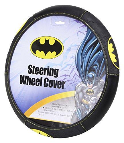 Plasticolor 006711R01 DC Comics Batman Shattered Car Truck SUV Steering Wheel Cover