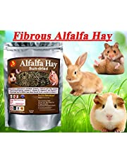 Pet Care International (PCI) Alfalfa Hay for Rabbit, Guinea Pig, Hamster, Sun Dried Diet with Rich in Vitamins D, Minerals & Calcium (400grm x 2) (Pack of 2)