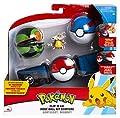 Pokemon Clip 'n' Go CINTURÓN Porta Bolas con Figura Cubone y 2 Pokeball Originales Oficiales por WCT