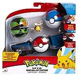Pokemon Clip 'n' Go CINTURÓN Porta Bolas con Figura Cubone y 2 Pokeball Originales Oficiales