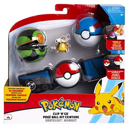 Pokemon Clip N Go Poke Ball Gürtel Set | Tragosso | Superball | FinsterBall