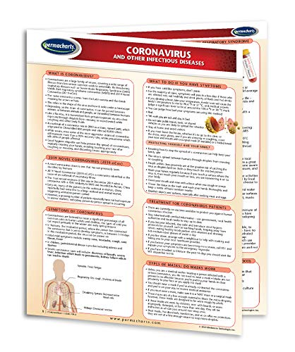 Coronavirus (COVID-19) Facts and Infectious Disease Information Sheet - Quick Reference Guide by Permacharts