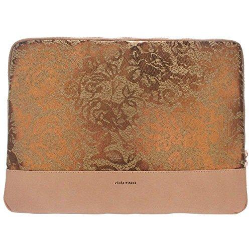 Preisvergleich Produktbild Pixie Mood Isla Laptophülle für 38,1 cm (15 Zoll) Laptops,  Kork