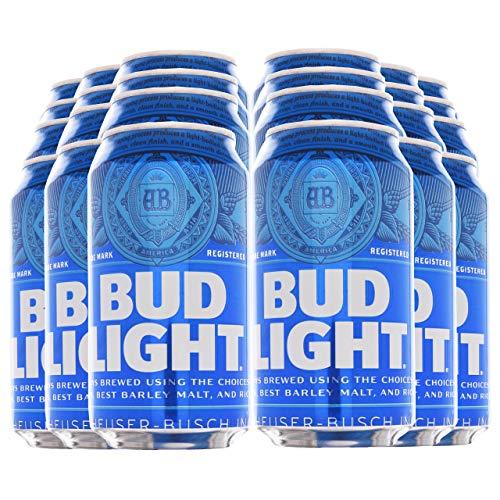 BUD LIGHT® - Dosenbier 24 x 355ml amerikanisches Bier, American Beer | Das NO.1 aus den USA als Original Importware, inkl. 6,00 € DPG Pfand