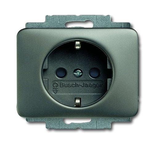 Busch-Jaeger 20EUC-20 bus stopcontact SCHUKO 20 EUC-20 alpha nea, metallic